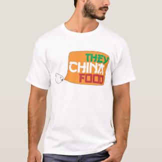 Sie China-Nahrung T-Shirt