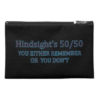 Sie der Nachsicht 50/50 entweder erinnern sich, Reisekulturtasche
