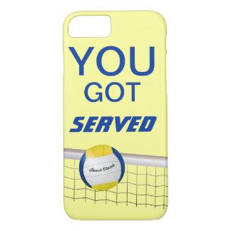Sie erhielten gedienten Strand-Volleyball iPhone 7 iPhone 8/7 Hülle