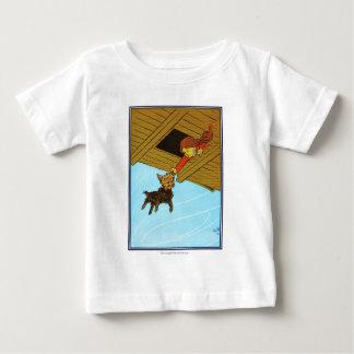 Sie fing Toto durch das Ohr Baby T-shirt