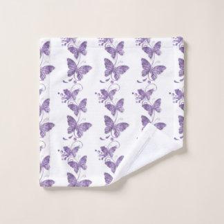 Sie geben mir Schmetterlinge Waschlappen