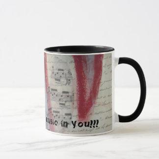 Sie haben die Musik in Ihnen Tasse