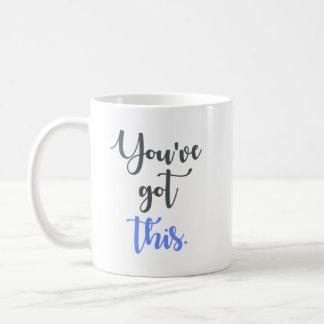 Sie haben diese Kalligraphie Kaffeetasse
