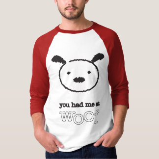 Sie hatten mich an raglan-T-Stück der T-Shirt