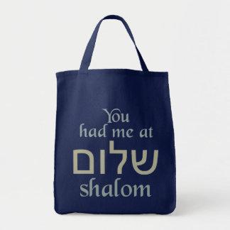 Sie hatten mich an Shalom Taschen
