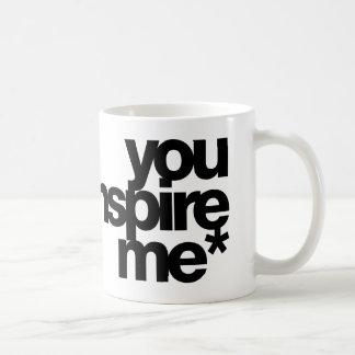 Sie inspirieren me* kaffeetasse