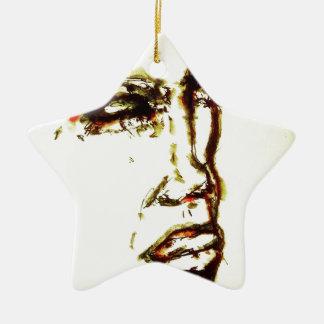 Sie ist intensiv keramik Stern-Ornament