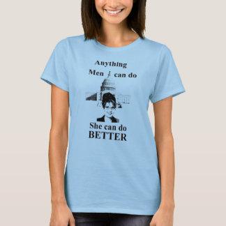 sie kann BESSER tun T-Shirt