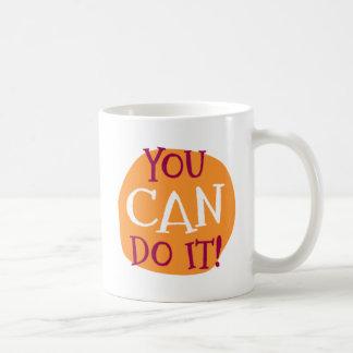 Sie können es tun! tasse