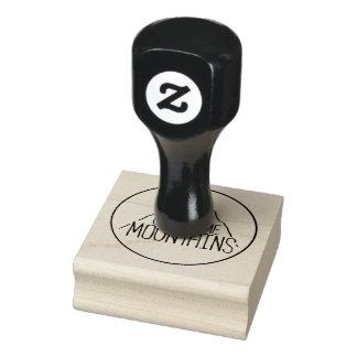 Sie können Gebirgsgummi-Briefmarke klettern Gummistempel