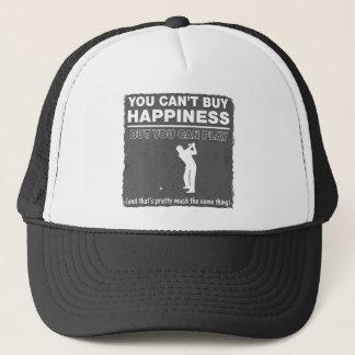 Sie können Glück-Spiel-Golf nicht kaufen Truckerkappe