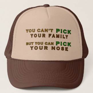 Sie können Ihren Nasen-lustigen Fernlastfahrer Truckerkappe