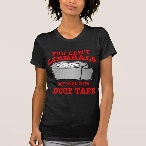 Sie können Liberale nicht einmal mit Panzerklebeba T Shirts