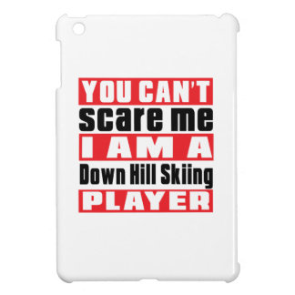 Sie können mich hinunter Hügel-Skifahren-Entwürfe iPad Mini Hülle