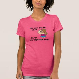 Sie können mich - mit Cartoonmädchen nicht T-Shirt