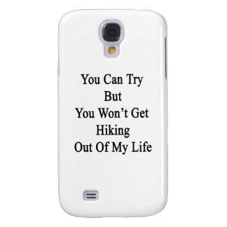 Sie können versuchen aber Sie erhalten nicht wan Galaxy S4 Hülle