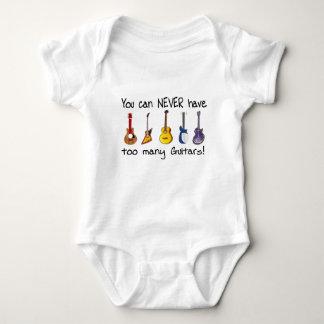 Sie können zu viele Gitarrengeschenke NIE haben Baby Strampler