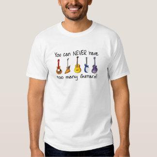 Sie können zu viele Gitarrengeschenke NIE haben Hemd
