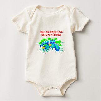 Sie können zu viele Trommeln nie haben! Baby Strampler