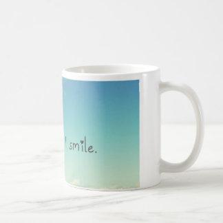 Sie lächeln ich lächeln kaffeetasse