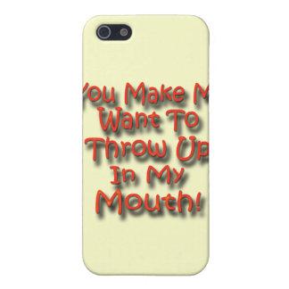 Sie lassen mich wollen, um in meinen Mund 2 oben iPhone 5 Hüllen
