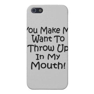 Sie lassen mich wollen, um in meinen Mund oben zu iPhone 5 Hülle