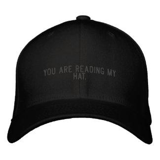 Sie lesen meinen Hut