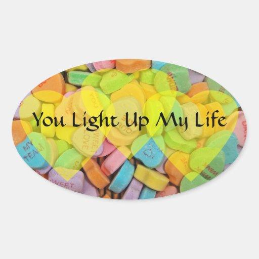 Sie leuchten meinem Leben Aufkleber