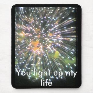 Sie leuchten meinem Leben Mousepads