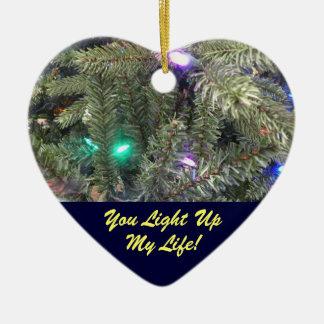 Sie leuchten meiner Leben-Weihnachtsbaum-Verzierun Weihnachtsbaum Ornament