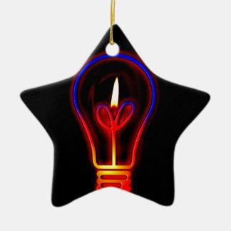 Sie leuchten meiner Liebe und Leben Keramik Stern-Ornament
