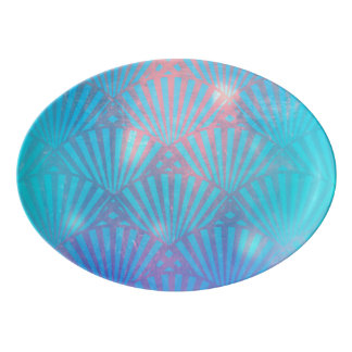Sie LiebenSeashells Porzellan Servierplatte