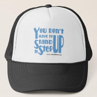 Sie müssen nicht bis stehen steigern Hut Truckerkappe