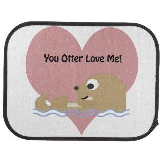 Sie Otter Liebe Ich Automatte
