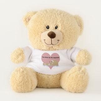 Sie Otter sind mein Valentinsgruß Teddybär