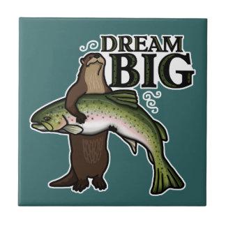 Sie Otter-Traumgroßes Keramikfliese