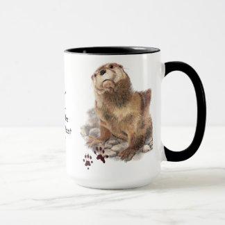 Sie Otter wissen, dass Sie der beste Chef der Welt Tasse