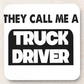 sie rufen mich einen LKW-Fahrer an Untersetzer