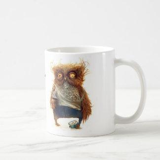 Sie sagen Morgen-..... Eulen-Tasse Tasse