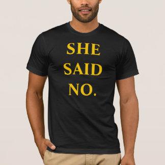 SIE SAGTE KEINEN T - Shirt Pittsburghs Big Ben