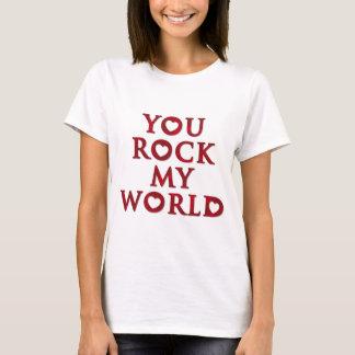 SIE schaukeln mein Weltdament-shirt T-Shirt
