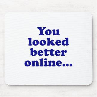 Sie schauten besser on-line mauspad