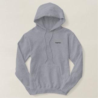 sie/sie bestickter hoodie