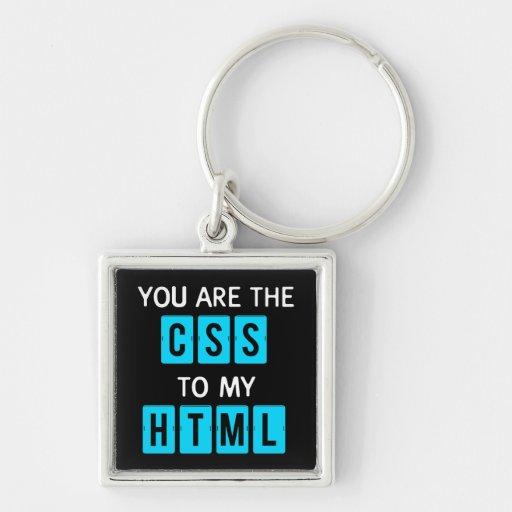 Sie sind der CSS zu meinem HTML Schlüsselanhänger