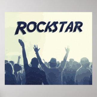Sie sind ein Rockstar! Poster