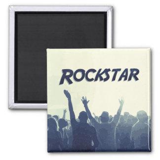 Sie sind ein Rockstar! Quadratischer Magnet