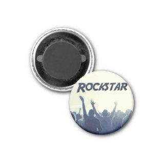 Sie sind ein Rockstar! Runder Magnet 3,2 Cm
