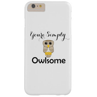 Sie sind einfach Owlsome iphone 6/6s plus Barely There iPhone 6 Plus Hülle