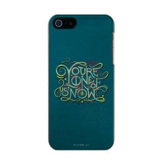 Sie sind eins von uns jetzt grüne Grafik Incipio Feather® Shine iPhone 5 Hülle