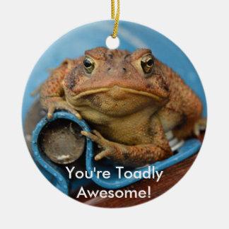 Sie sind fantastisches Toadly! Keramik Ornament
